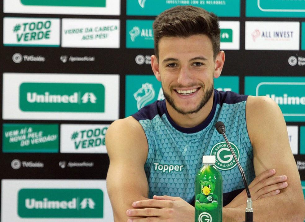 Leandro Barcia: quatro gols na Série A, oito na temporada — Foto: Rosiron Rodrigues