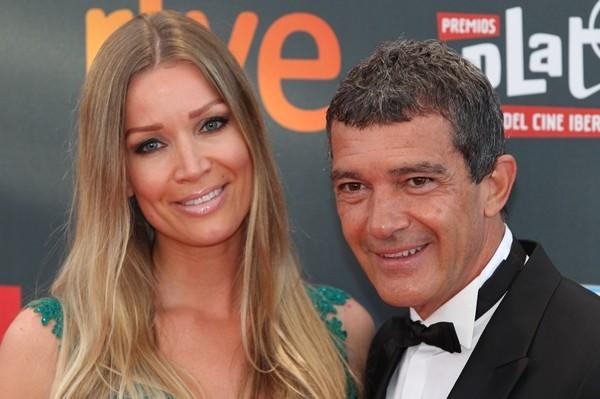 Nicole Kimpel e Antonio Banderas (Foto: Getty Images)