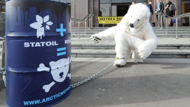 A decisão da Justiça de apoiar a exploração de petróleo no Ártico foi muito controversa (Foto: Getty Images via BBC)