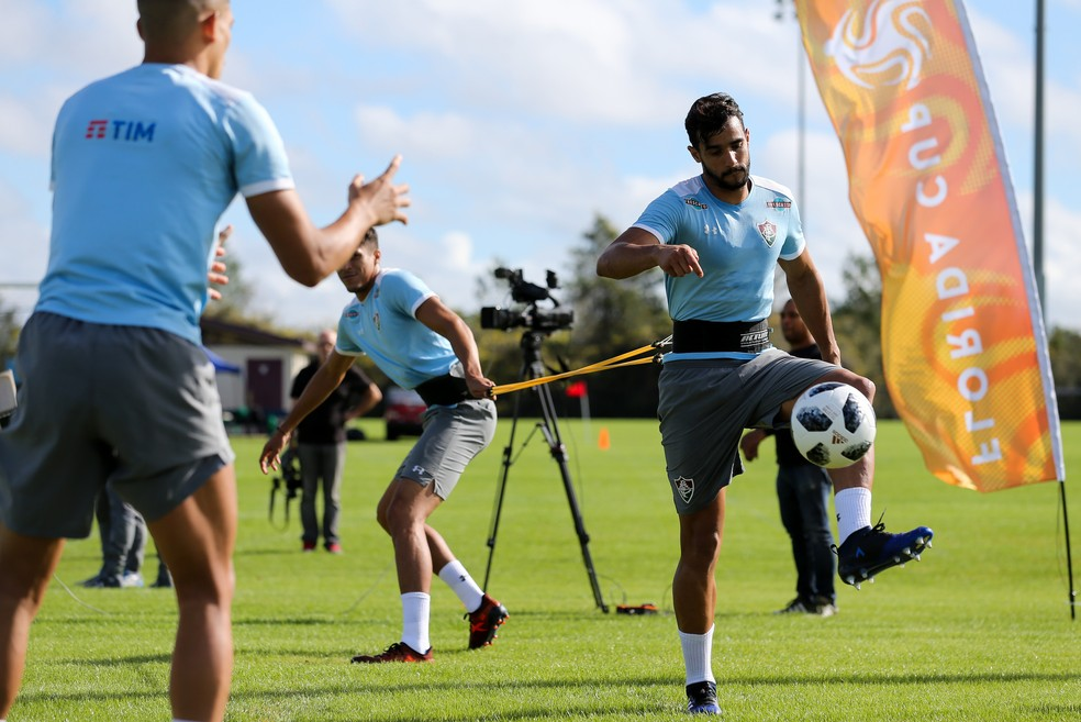 Henrique Dourado, do Fluminense, estava na mira do Corinthians (Foto: Lucas Merçon/Fluminense FC)