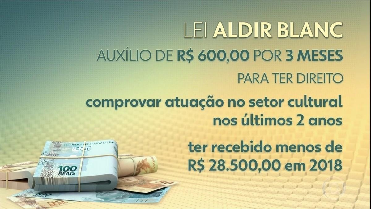 Lei Aldir Blanc: entenda pacote de R$ 3 bilhões para cultura com auxílio de R$ 600 para artistas informais – G1