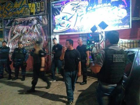 Polícia fecha 21 estabelecimentos irregulares durante operação em Icoaraci, distrito de Belém - Notícias - Plantão Diário