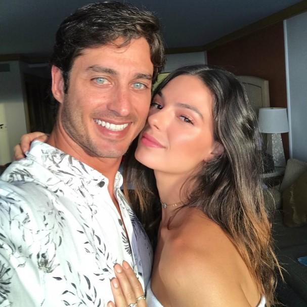 Isis Valverde e namorado (Foto: Instagram/Reprodução)
