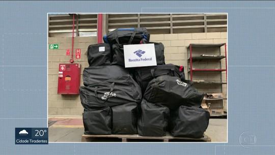 Mais de 1 tonelada de cocaína foi apreendida no porto de Santos
