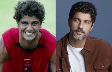 """Bruno Cabrerizo foi jogador de futebol antes de virar ator. """"Chegou uma hora que vi que o futebol não era o meu caminho, o meu negócio é arte"""" Reprodução"""