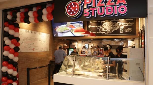 Unidade da Pizza Studio, no Recife (Foto: Divulgação)