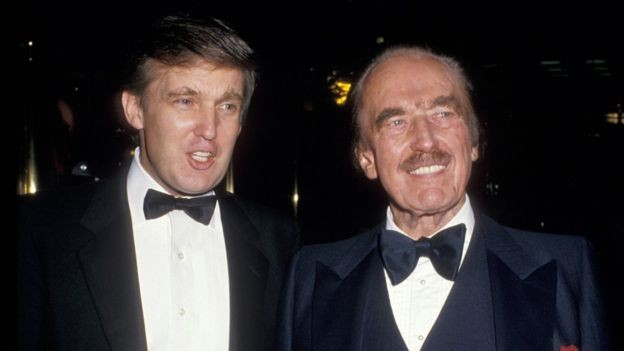 Fred Trump, pai do atual presidente dos EUA, nasceu pouco depois que a família teve de deixar a Alemanha (Foto: GETTY IMAGES via BBC)