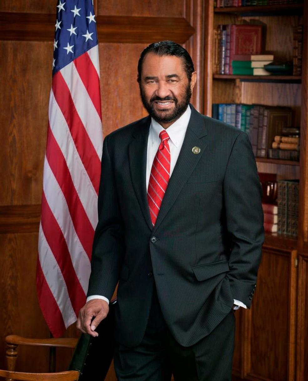O congressista do Texas Al Green. — Foto: Reprodução/Facebook Al Green
