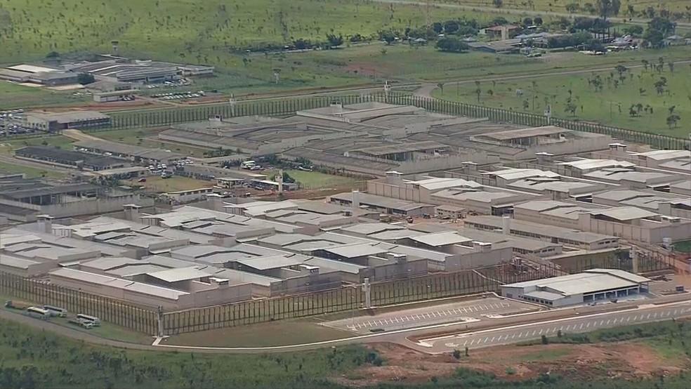 Complexo Penitenciário da Papuda, em Brasília, em imagem de arquivo — Foto: TV Globo/Reprodução