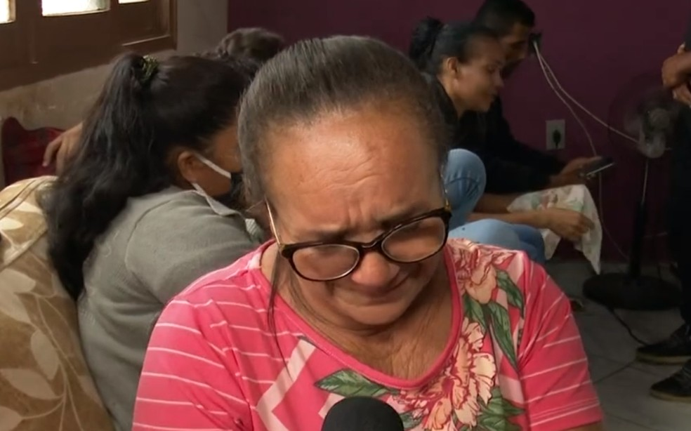 Avó de Enzo Gabriel lamenta perda do garoto após atropelamento em Pau Brasil — Foto: Reprodução/TV Bahia