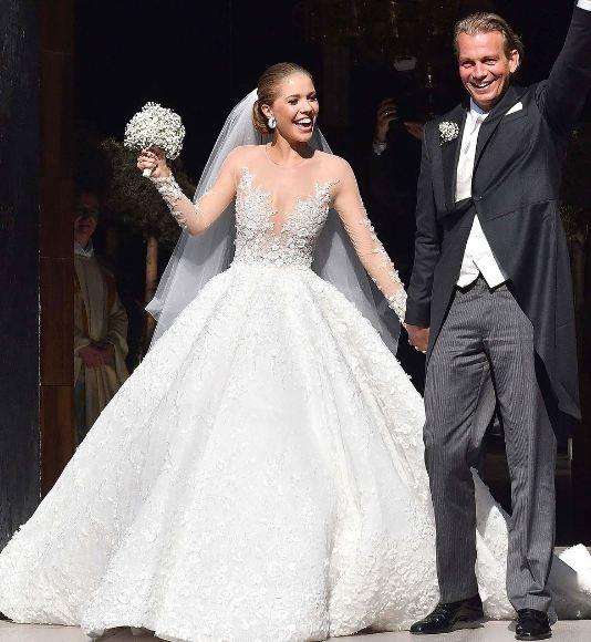 Herdeira da Swarovski se casa na Itália (Foto: Reprodução/Instagram)