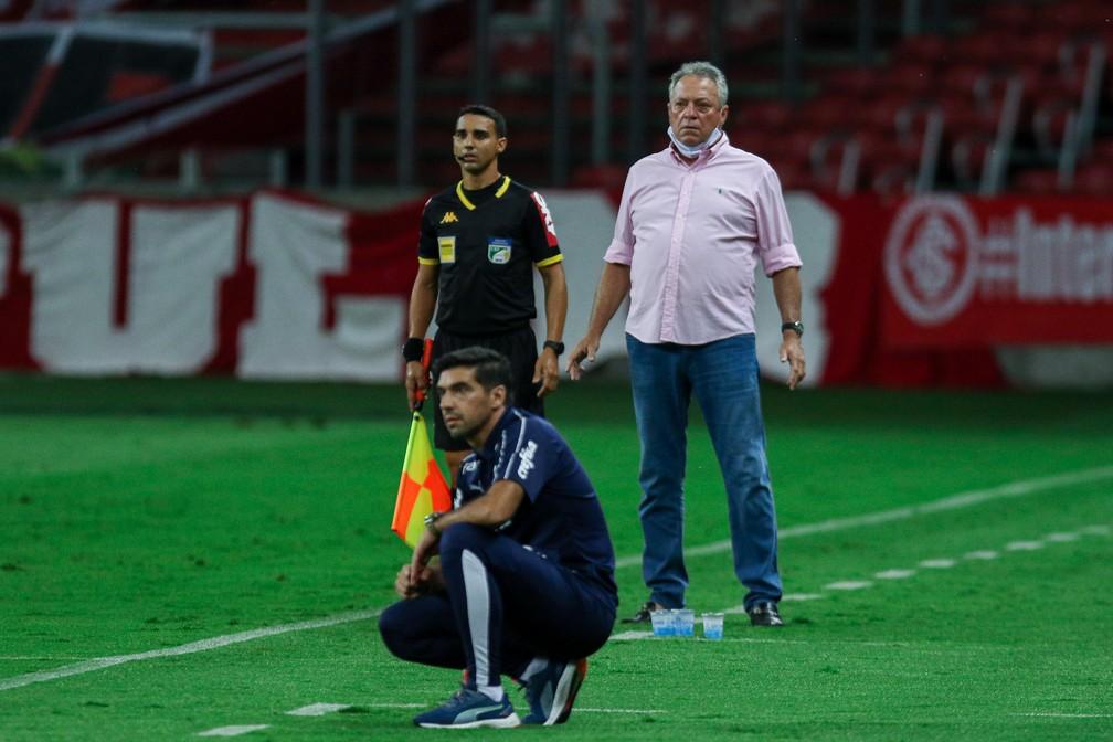 agf20201219128 Palmeiras tem atuação apática contra o Inter, e título brasileiro fica mais distante