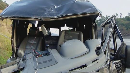 Motorista de carro morto em acidente com van do Sampa Crew é enterrado em Jarinu