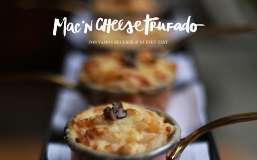 Mac'n cheese trufado