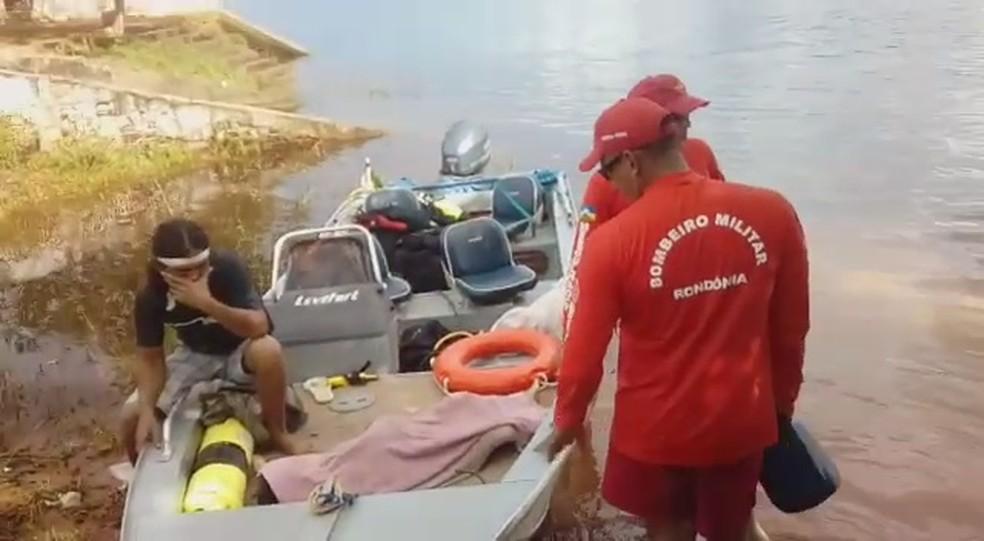 Criança caiu no Rio Guaporé quando pai e tio retornavam de pescaria (Foto: WhatsApp/Reprodução)