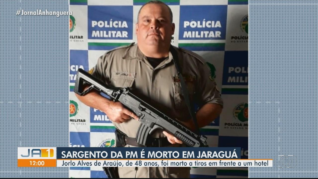 Sargento da Polícia Militar é morto em Jaraguá