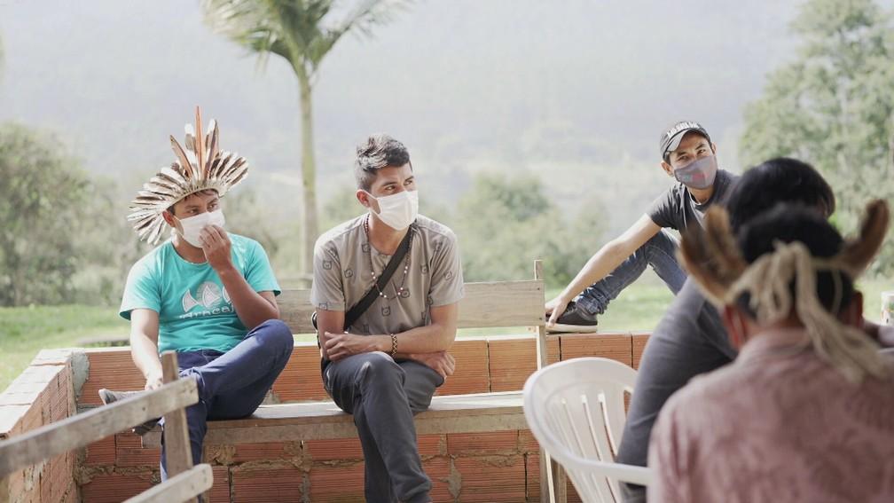 Poucos mais de 3 mil Xoklengs vivem na Ibirama La-Klãnõ, no Vale do Itajaí, em Santa Catarina — Foto: Profissão Repórter