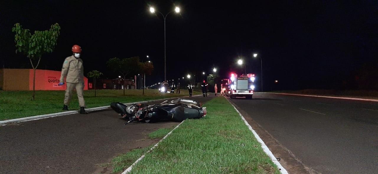 Mulher morta em acidente com moto na capital de MS foi reconhecida pela filha