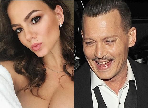 Polina Glen Johnny Depp