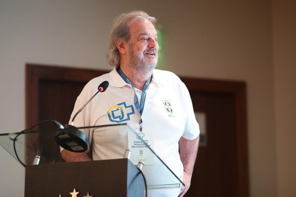 Jorge Pagura, presidente da Comissão Médica da CBF — Foto: Lucas Figueiredo/CBF