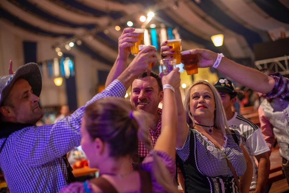 3ª São Paulo Oktoberfest terá 20 tipos de cerveja — Foto: Divulgação