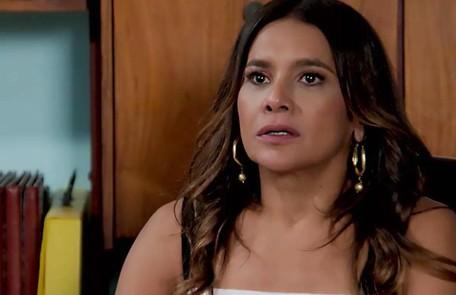 Na terça (16), Janaína (Dira Paes) deduzirá que Jerônimo (Jesuíta Barbosa) está envolvido no golpe de Andreas TV Globo