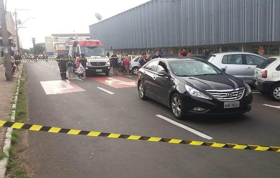 Homem é morto em briga de trânsito em São Carlos — Foto: A Cidade ON/São Carlos