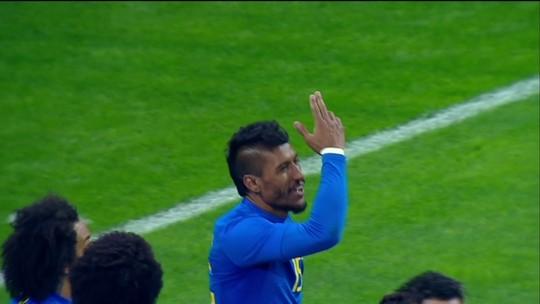 Paulinho chega a sete gols com Tite, e Willian brinca: ''Podia ter feito o hat-trick''