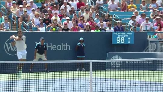 Medvedev confirma bom momento, vence Goffin e é campeão no Masters 1000 de Cincinnati