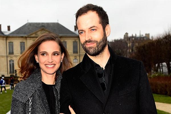 Natalie Portman e Benjamin Millipied (Foto: Getty Images)