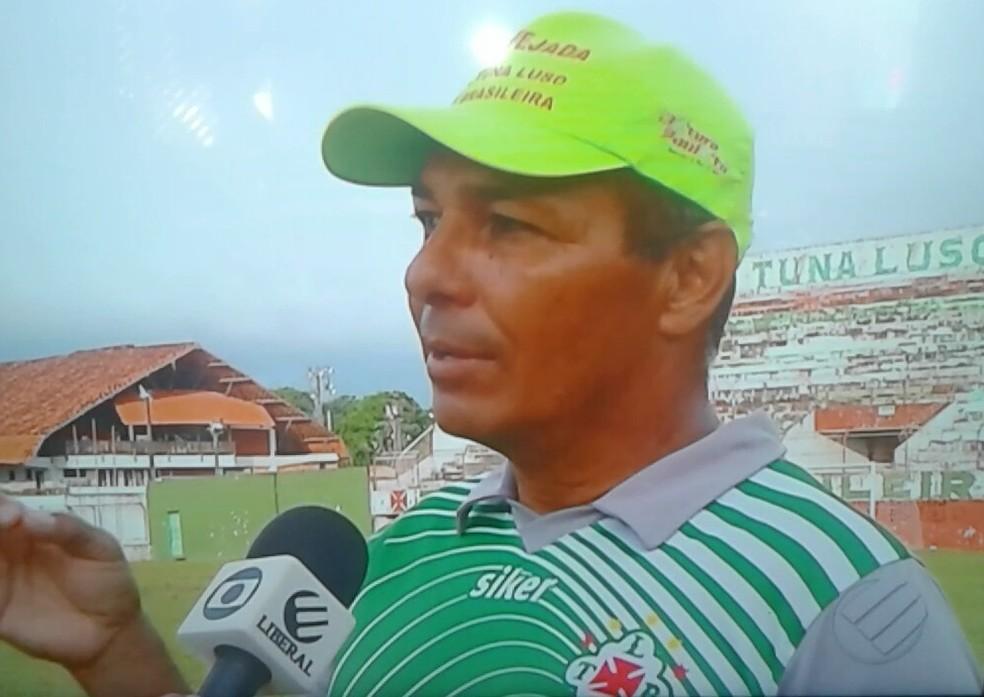 O desconhecido Charles Gatinho não conseguiu ter sucesso na Lusa — Foto: Reprodução/TV Liberal