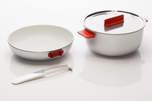 Designer cria cozinha portátil para espaços pequenos (Foto: Fotos Divulgação)