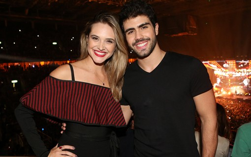 Juliana Paiva e Juliano Laham