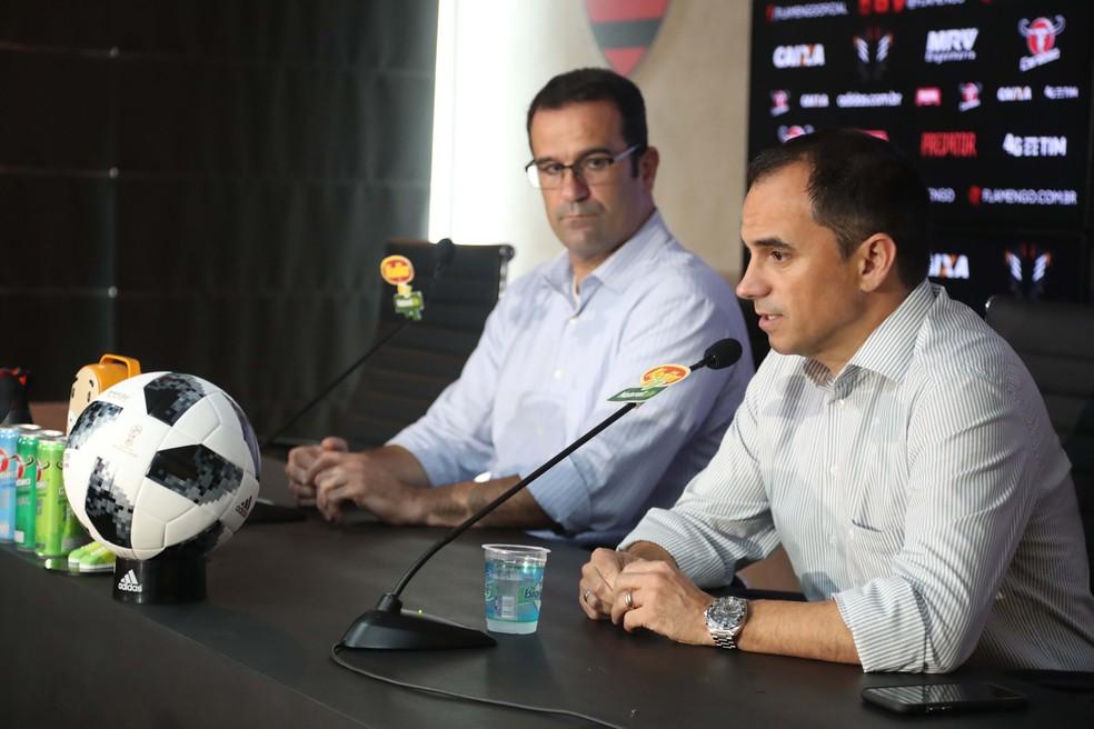 Ricardo Lomba pressionou para a demissão de Rodrigo Caetano e Paulo César Carpegiani (Foto: Gilvan de Souza / Flamengo)