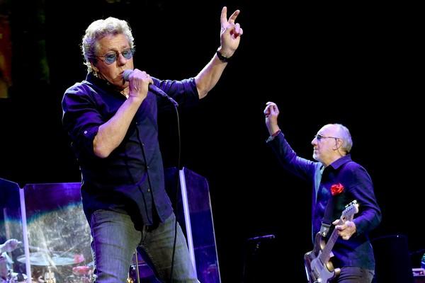Roger Daltrey e Pete Townshend em um show do The Who (Foto: Getty Images)
