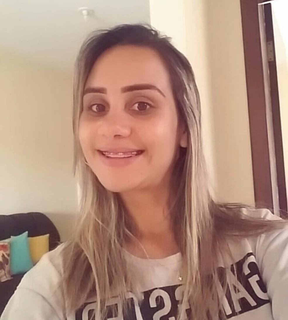 Maria Dileuza foi morta dentro de casa pelo companheiro — Foto: Arquivo pessoal