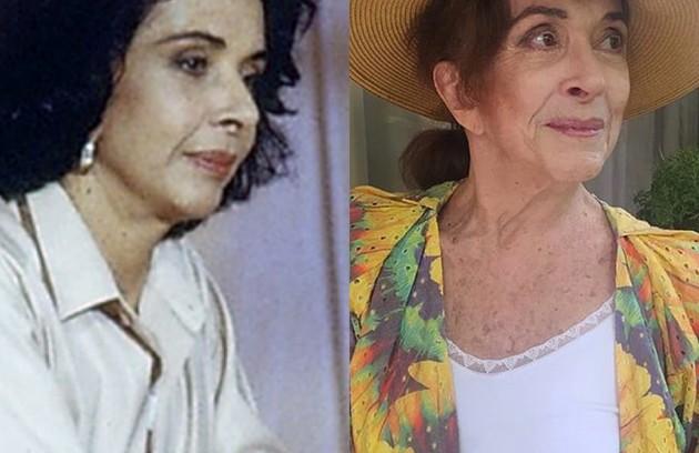 Betty Faria viveu Marina, uma influente empresária. Recentemente, a atriz participou de 'Salve-se quem puder' (Foto: TV Globo - Reprodução/Instagram)