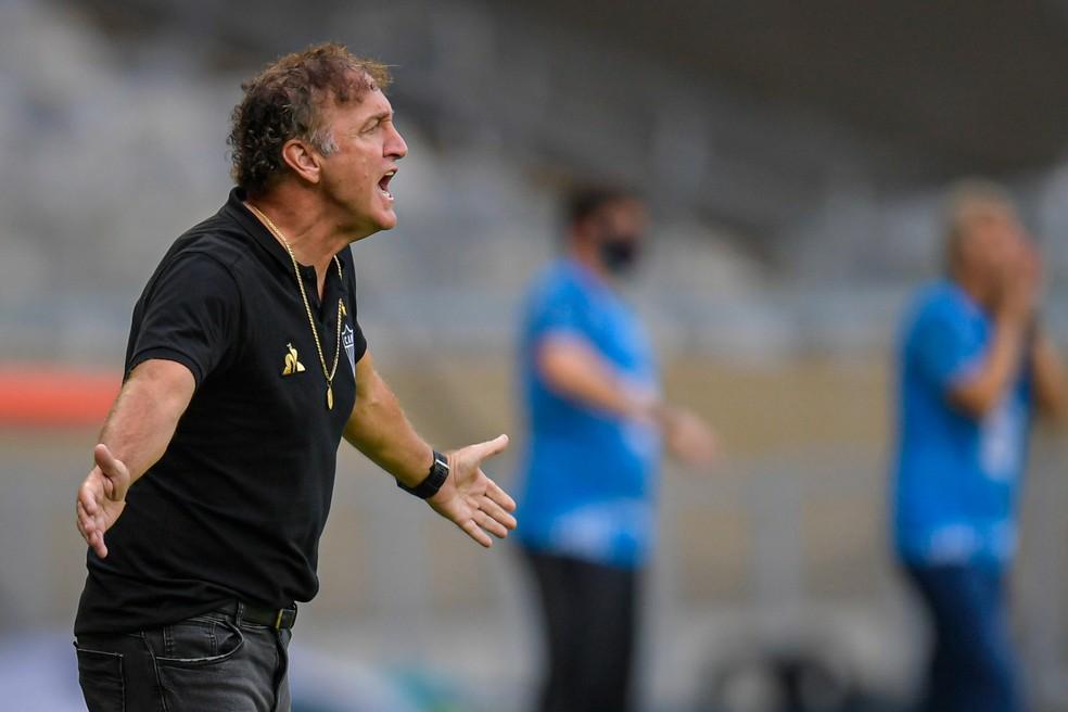 Cuca, técnico do Atlético-MG — Foto: Agência i7/Mineirão