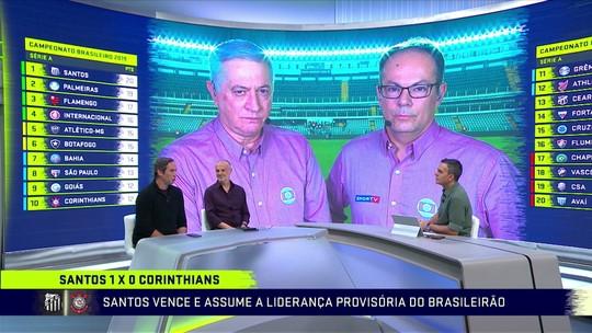 """Caio Ribeiro analisa vitória do Santos e trabalho de Sampaoli: """"Um prazer ver jogar"""""""