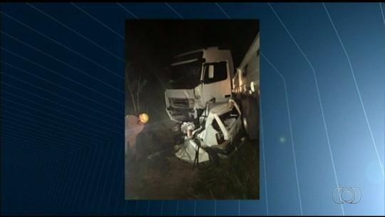Três acidentes deixam cinco mortos em rodovias estaduais de Goiás