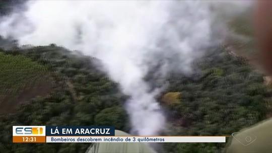 Bombeiros descobrem incêndio que causou fumaça na Grande Vitória