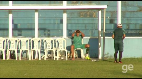 """Wesley Pacheco é apresentado como jogador do Paysandu e garante: """"Eu vou dar a vida"""""""