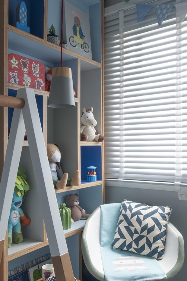 Décor do dia: cama montessoriana no quarto do bebê (Foto: Luís Gomes/Divulgação)