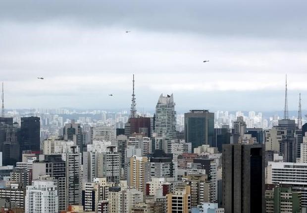 prédios, imóveis, são paulo, mercado imobiliário, aluguel (Foto: Paulo Whitaker/Reuters)