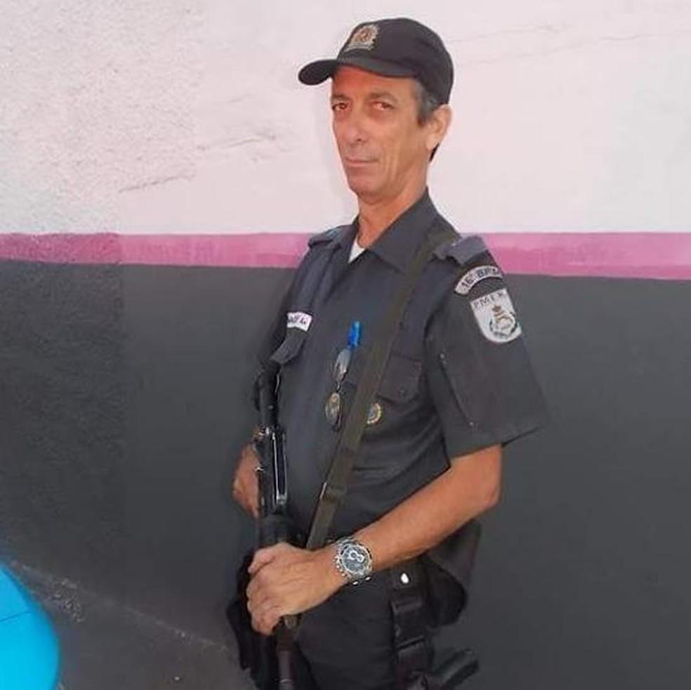 Subtenente Marcílio de Melo Ferreira, morto em uma tentativa de assalto a um posto de combustíveis. (Foto: Reprodução/ Facebook)