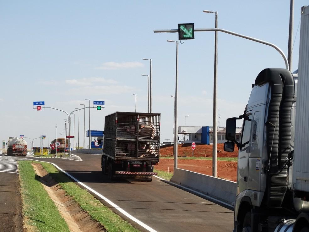 -  Balança BR-050  Foto: MGO Rodovias/ Divulgação