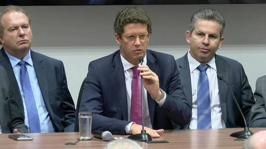 Ricardo Salles anuncia medidas para combater desmatamento na Amazônia