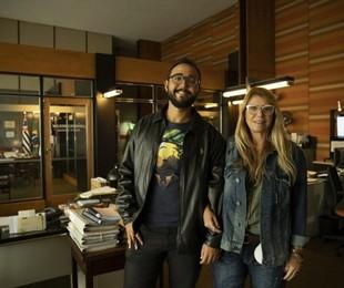Raphael Montes e Ilana Casoy | Suzanna Tierie/Divulgação