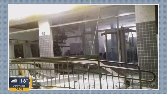 Agência bancária é alvo de explosão em Liberdade, MG