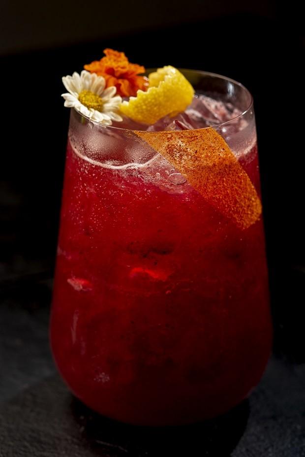 Receita de gim tônica com frutas vermelhas  (Foto: Landau / Divulgação)